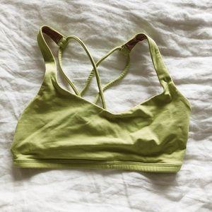 Lululemon Lime Green Bra